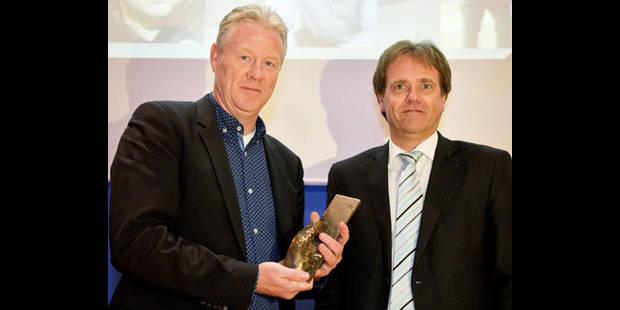 """Peter Maes remporte le  """"Guy Thys Award"""" - La DH"""