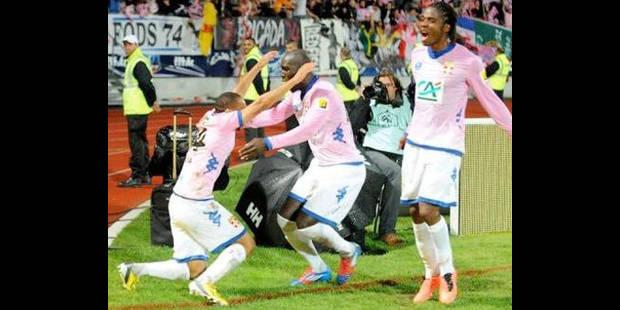 Evian premier finaliste de la Coupe de France - La DH