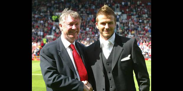 """Beckham salue Ferguson, """"le plus grand entraîneur et une figure paternelle"""" - La DH"""