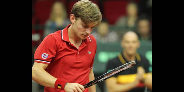 David Goffin battu par Monfils en demi-finales du Challenger de Bordeaux - La DH