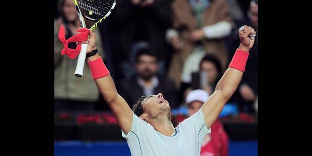 Rafael Nadal remporte son huitième titre à Barcelone - La DH