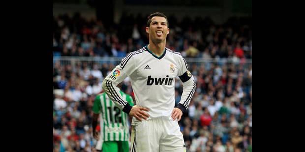 Le Real suspendu à la cuisse de Ronaldo avant Dortmund - La DH
