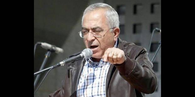 Le Premier ministre palestinien démissionne - La DH