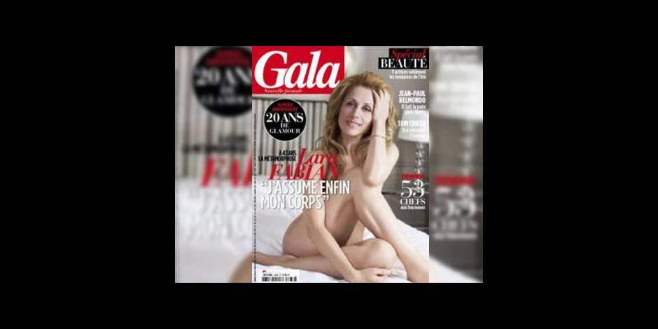 Lara Fabian entièrement nue en une de Gala