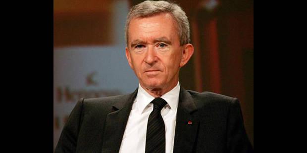 "Bernard Arnault renonce � la nationalit� belge, ""un choix personnel"" selon Reynders"