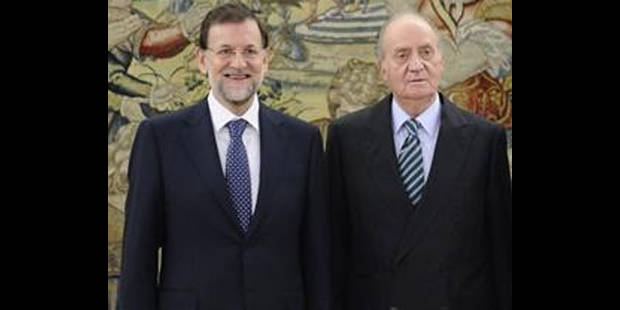 Espagne: le Premier ministre vient au secours du palais royal - La DH