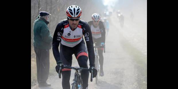 Cancellara chute en reconnaissant le parcours de Paris - Roubaix - La DH