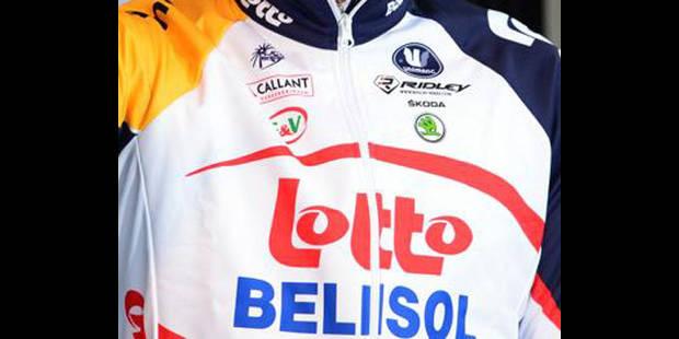Lotto-Belisol avec des vélos spéciaux à Paris-Roubaix - La DH