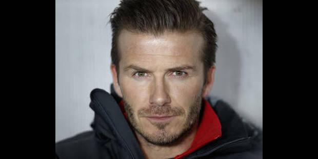 Le président du Paris SG veut garder David Beckham - La DH