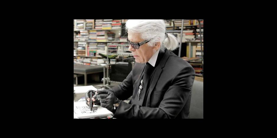 Karl Lagerfeld : le plastique c'est fantastique