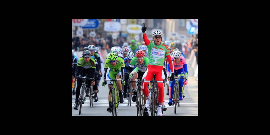 La Panne: L'étape et le maillot pour Kristoff