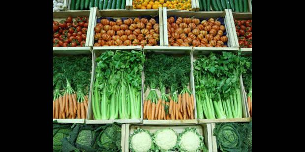 Les légumes jusqu'à 30% plus chers à cause de la météo hivernale - La DH