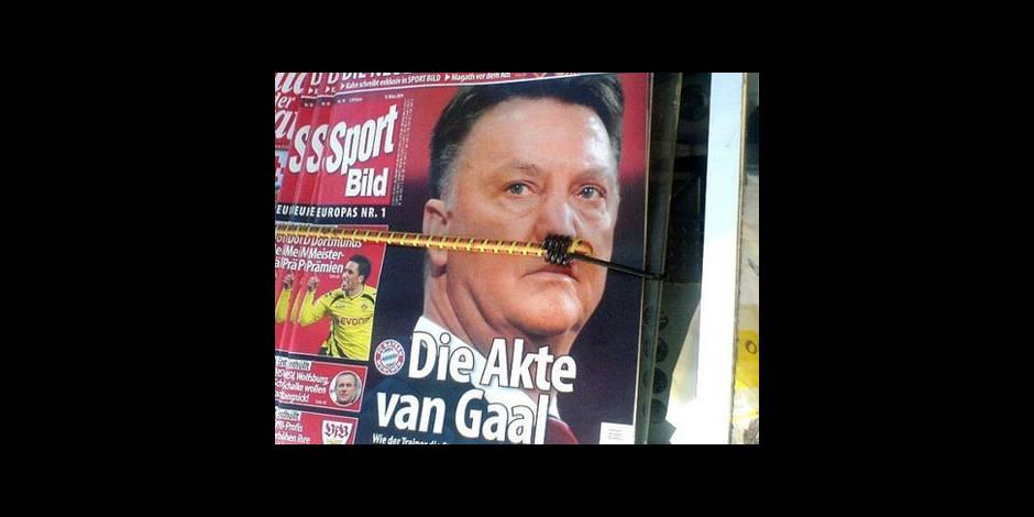 """""""Van Gaal comme Hitler"""""""