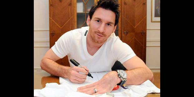 """Messi: """"Une fierté que le pape soit Argentin"""" - La DH"""