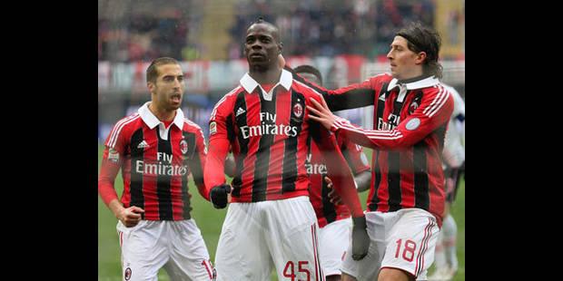 Serie A: Statu quo Naples-Milan et Cavani-Balotelli