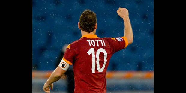 La passe géniale de Totti - La DH