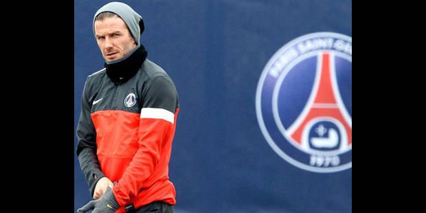 Beckham, footballeur le mieux payé du monde - La DH