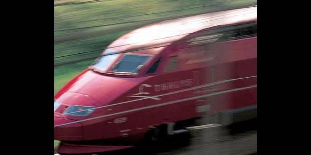 La circulation des trains Thalys toujours fortement perturbée - La DH