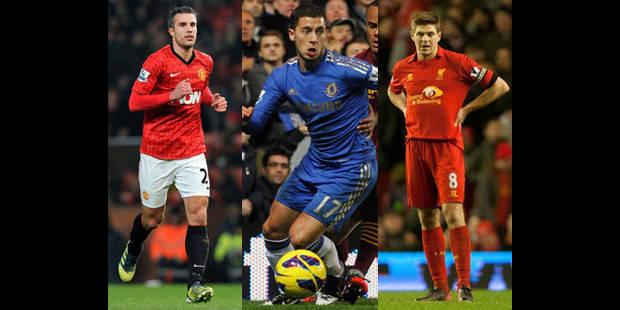 Hazard parmi les 10 joueurs les plus populaires de Premier League - La DH