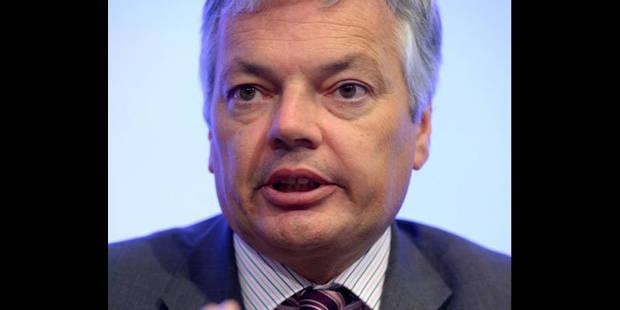 """Reynders: """"Je ne demande pas un euro aux régions et communautés"""" - La DH"""