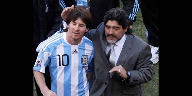 Maradona aimerait un jour entraîner le Barça - La DH