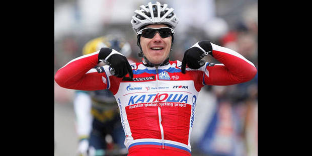Alexey Tsatevich remporte le GP Samyn - La DH