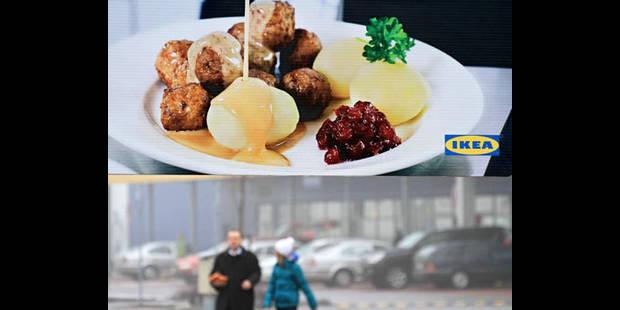 Viande de cheval: Ikea retire de la vente les boulettes dans 16 pays européens, dont la Belgique - La DH