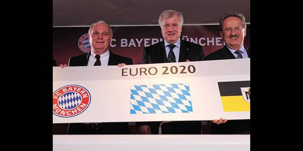 Euro 2020: Munich officialise sa candidature - La DH