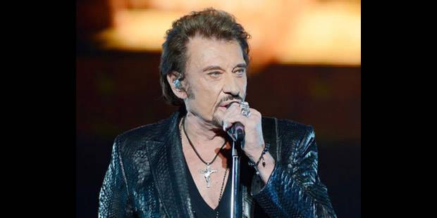 Johnny Hallyday en concert en juin à Namur - La DH