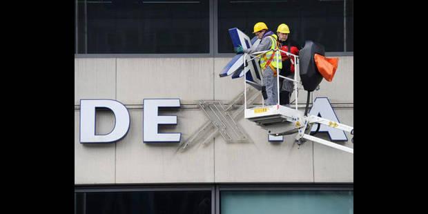 Dexia pr�voit une perte de 950 millions d'euros en 2013