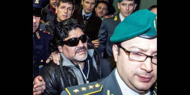 "Maradona vient ""seulement demander justice"" à l'Italie - La DH"