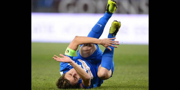 Vossen manquera le match contre Stuttgart jeudi - La DH