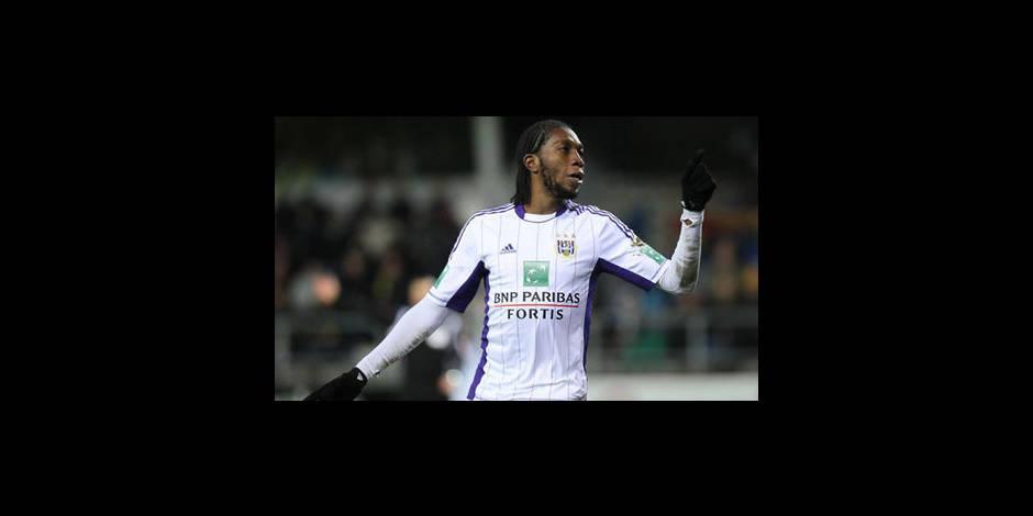 Anderlecht l'emporte à l'arraché à Beveren (1-2)