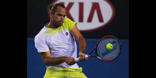 ATP San José: Xavier Malisse qualifié pour le deuxième tour - La DH
