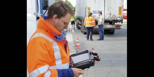Plus d'1,2 million de PV pour excès de vitesse en 2012 - La DH