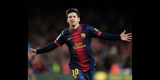 Lionel Messi prolonge jusqu'en 2018 à Barcelone - La DH