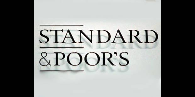 S&P confirme la note de la Belgique et sa perpective négative - La DH