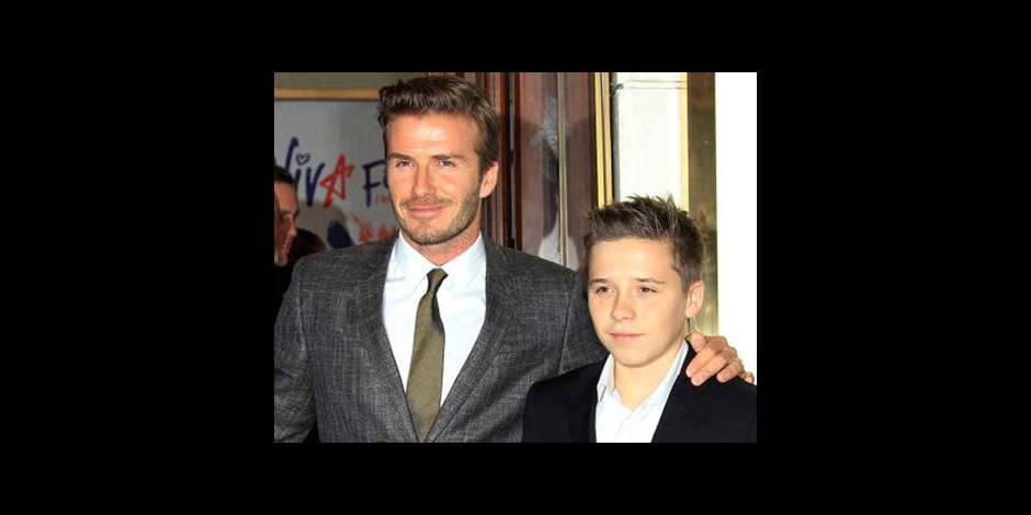 Le fils de David Beckham en test à Chelsea