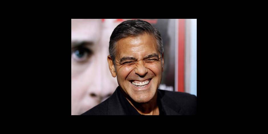 """Clooney: """"Je repasse mes boules"""""""