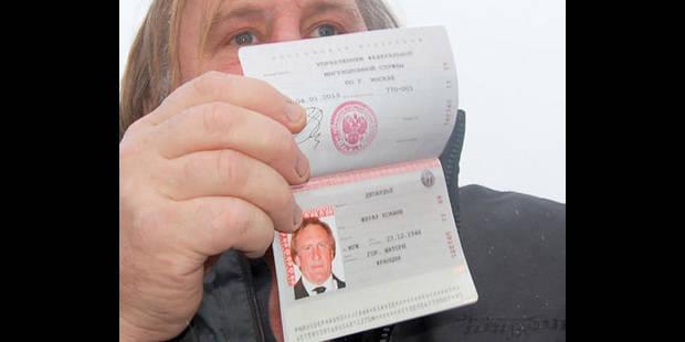 Depardieu quitte la Russie pour le Ballon d'Or - La DH