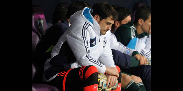 Casillas à nouveau sur le banc du Real - La DH