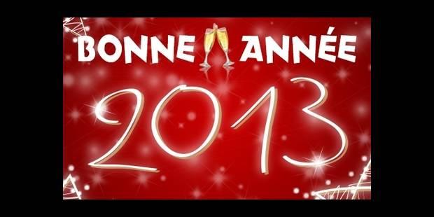 DH.be vous souhaite ses meilleurs voeux pour 2013 - La DH