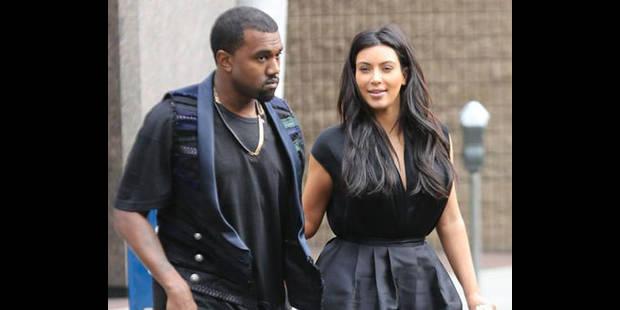 Kim Kardashian enceinte - La DH