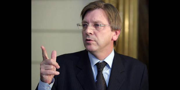 De Wever ne veut pas endosser la responsabilité du pays, selon Verhofstadt - La DH