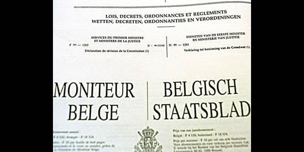 Le bon Belge devrait lire 240 pages du Moniteur... par jour - La DH
