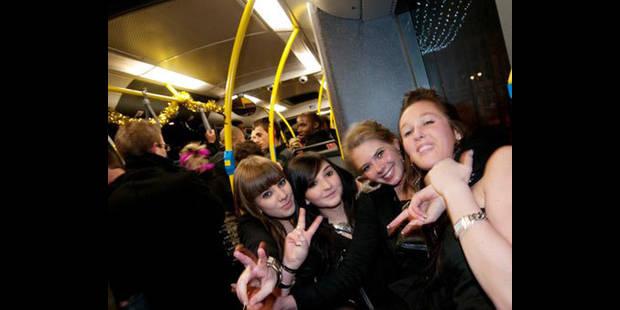 Faites la fête?   rentrez en bus !