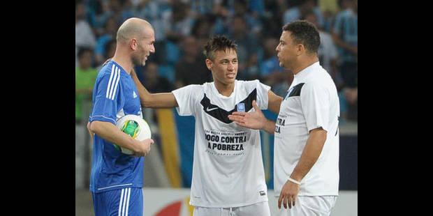 Zidane et Ronaldo ensemble au Brésil contre la pauvreté - La DH