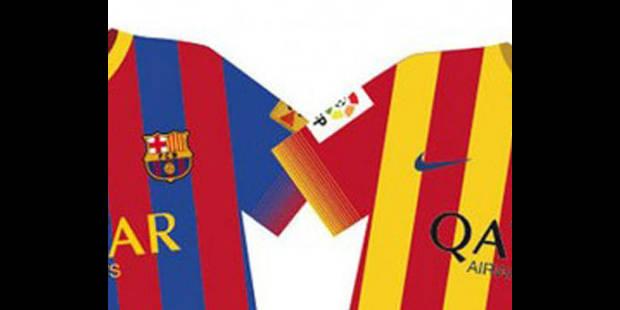 Le Barça dévoile son maillot 2013 - 2014 sur fond de polémique - La DH