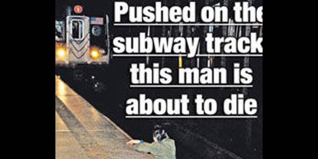 Scandale de la photo du mort du métro à New York: l'auteur se défend - La DH