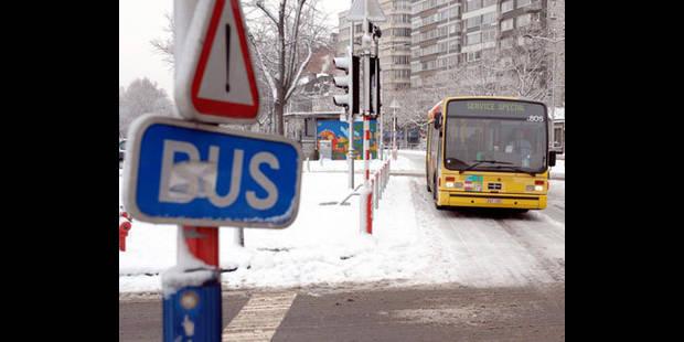 Plan neige activé pour la STIB et le TEC Brabant wallon - La DH